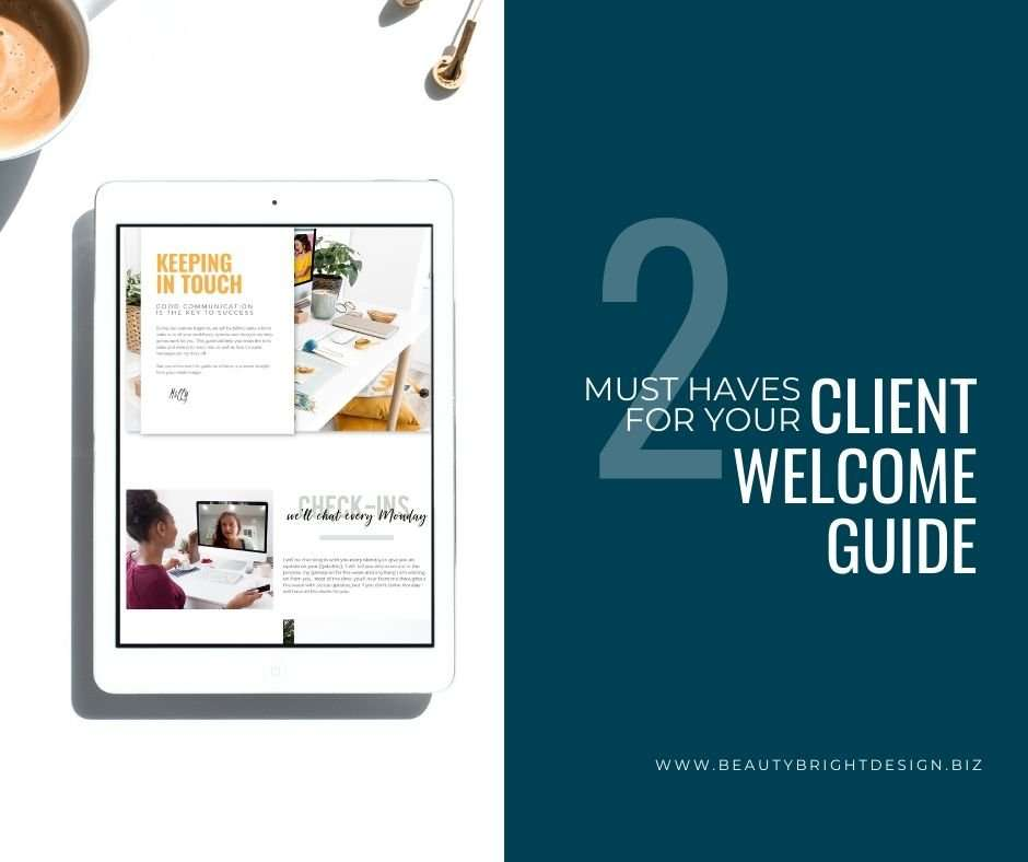 2 must haves for your client welcom guide
