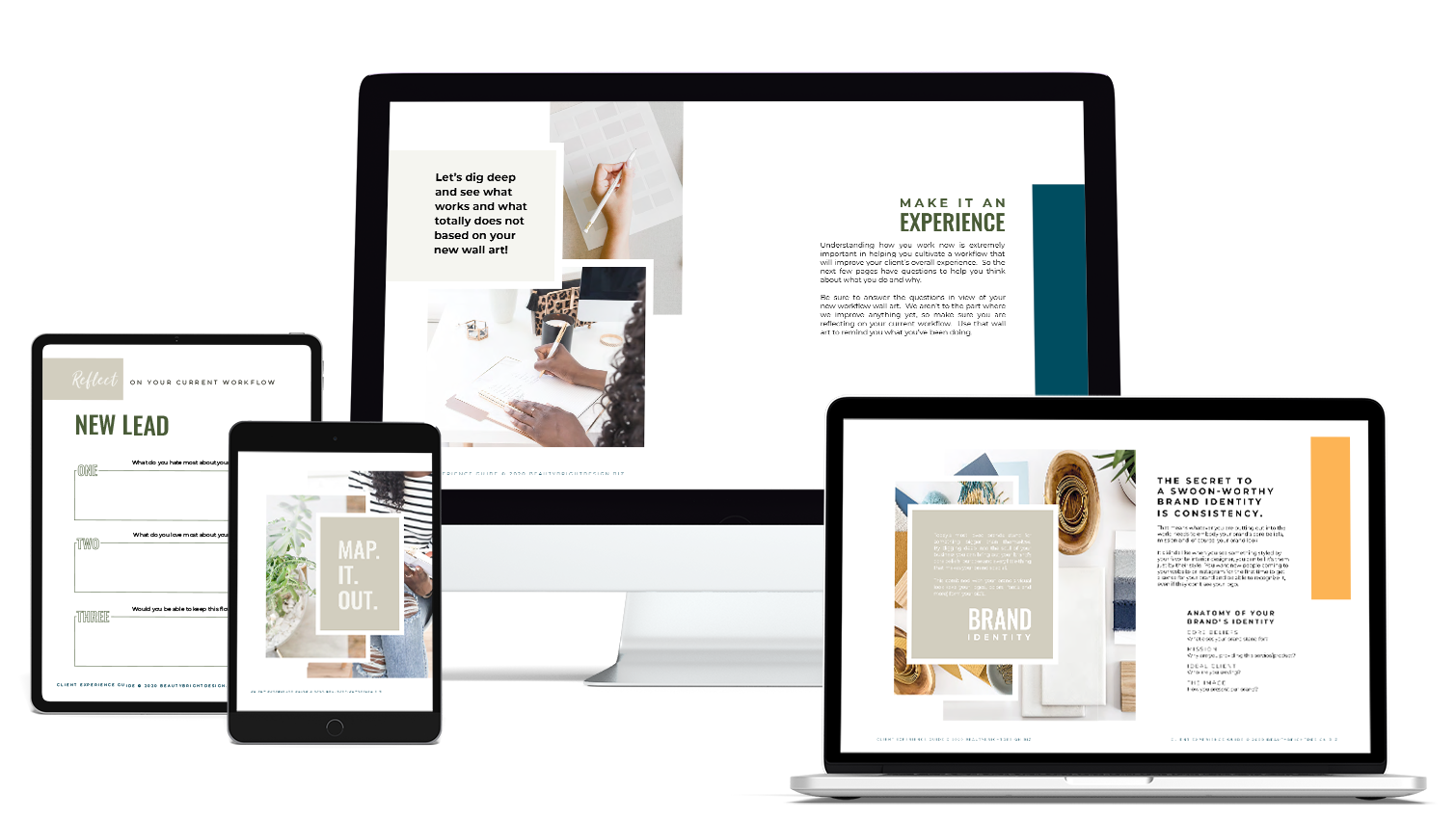 client experience guide from Molly Hicks, Brand Strategist and Graphic Designer