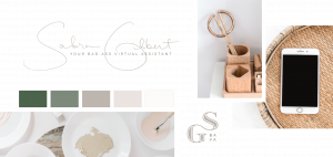 Sabra Gilbert, Badass Virtual Assistant Rebrand Option 3. We kept the Logo and the Favicon from this set!